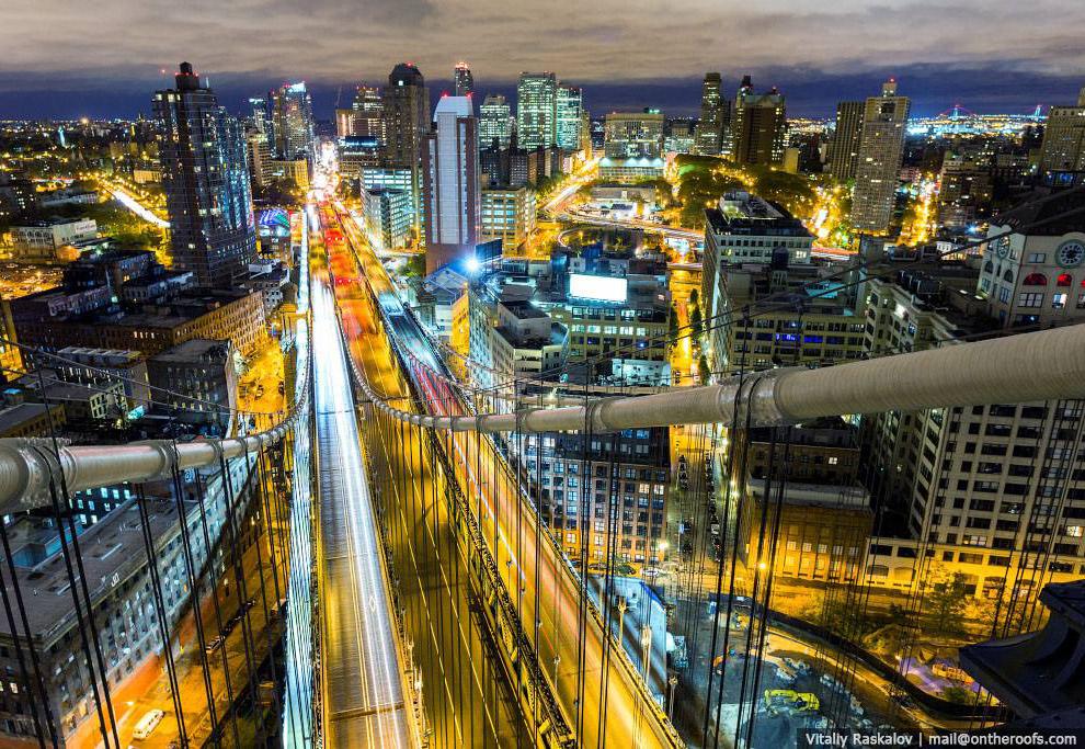 Экстремальные фотографии Нью-Йорка с высоты