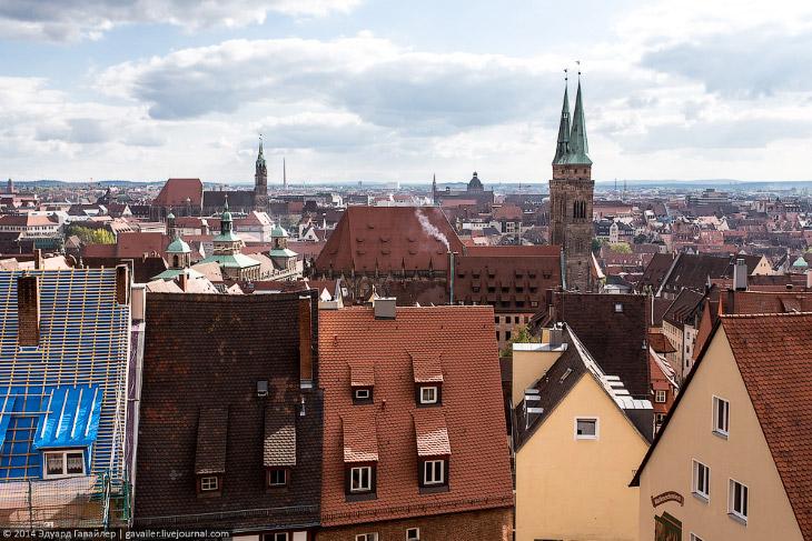 Нюрнберг — основа Средней Франконии