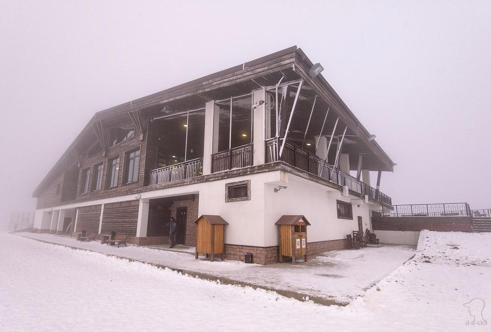 Ресторан на вершине: