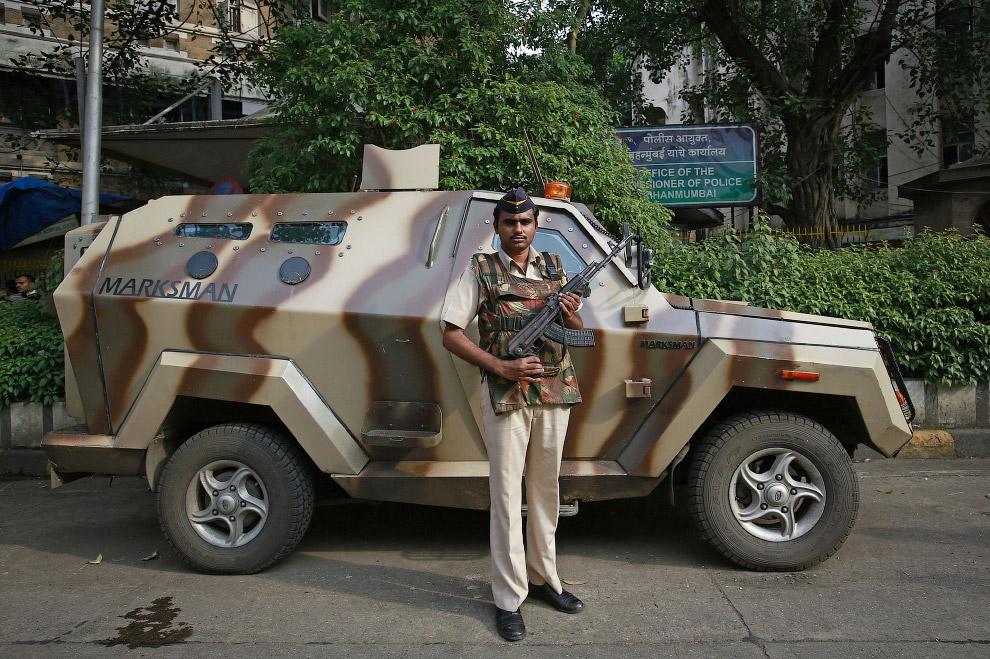 Полиция в Мумбаи