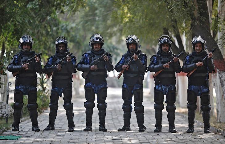Полицейские Индии