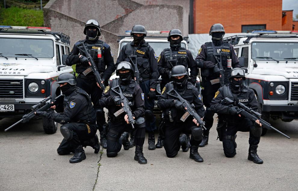 Отряд быстрого реагирования в Боснии