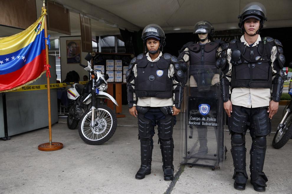 Полицейские Венесуэлы