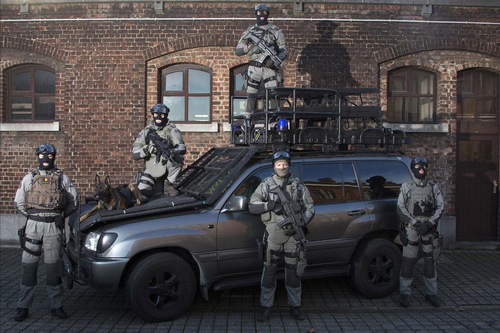 Спецназ Бельгии
