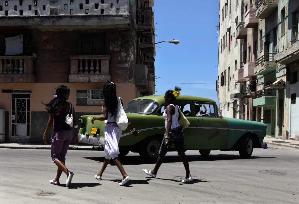 Шевроле 1956 года в Гаване 2010 года