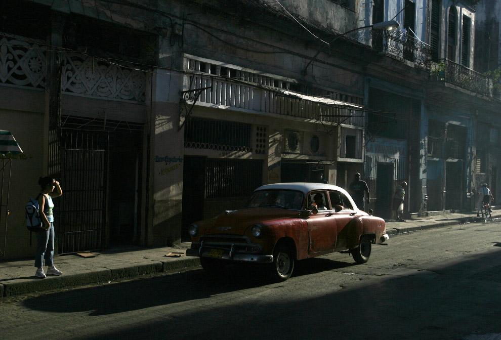 Старый Шевроле на улицах Гаваны
