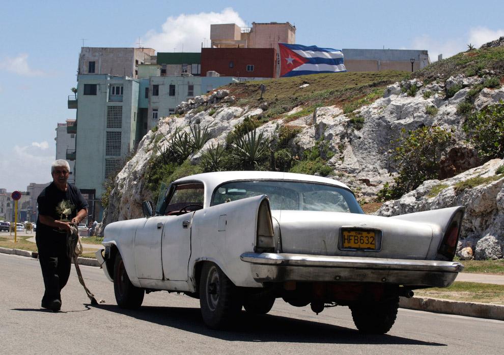 Поломался. Крайслер 1958 года, Гавана