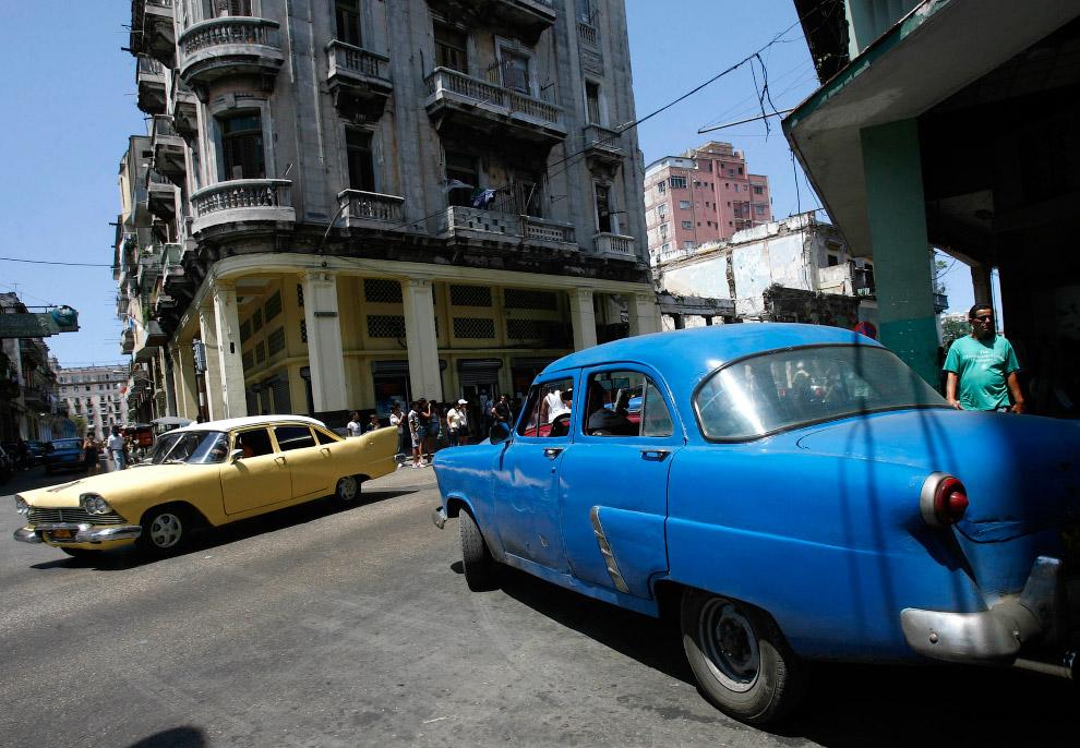 Как можно заметить, движение на улицах Кубы не очень напряженное