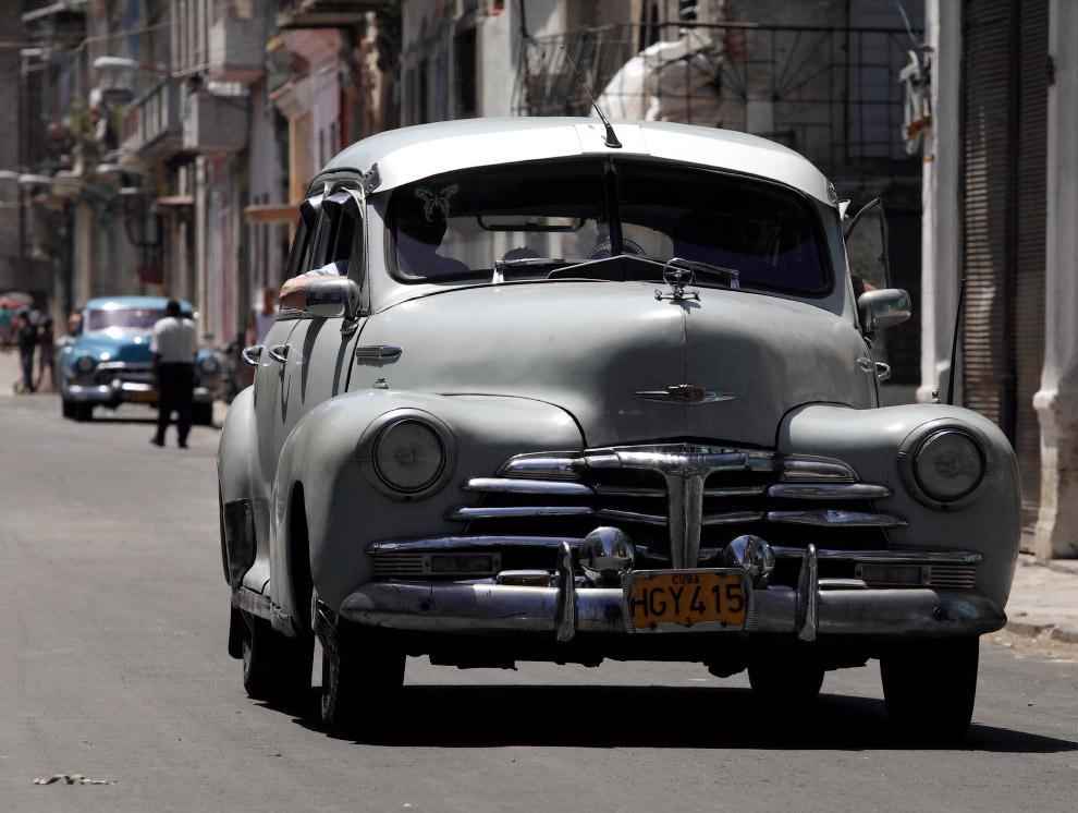 Шевроле 1947 года на улицах Гаваны