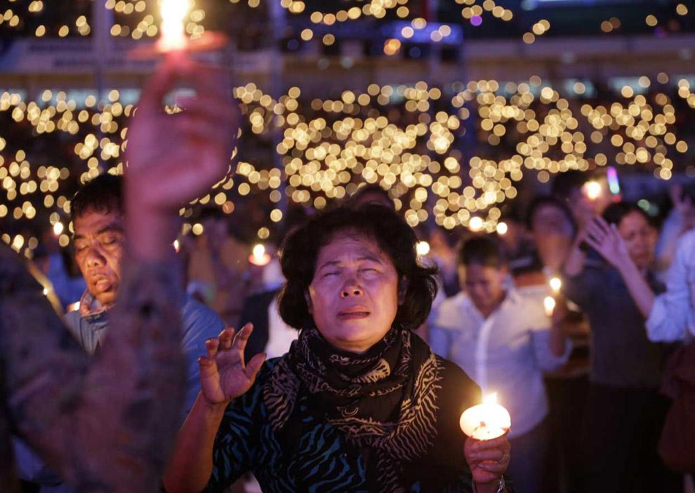 Приближение Рождества по-индонезийски, Джакарта, Индонезия