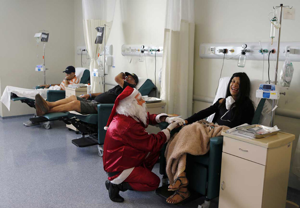 Немного радости в онкологическом центре в Сан-Паулу