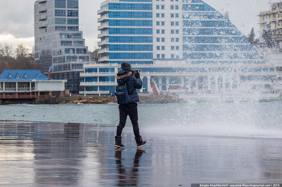 Зима в Севастополе