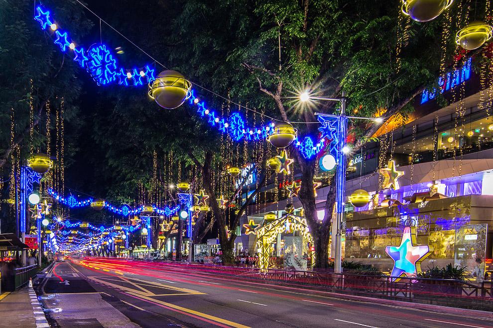 Сингапур перед Рождеством