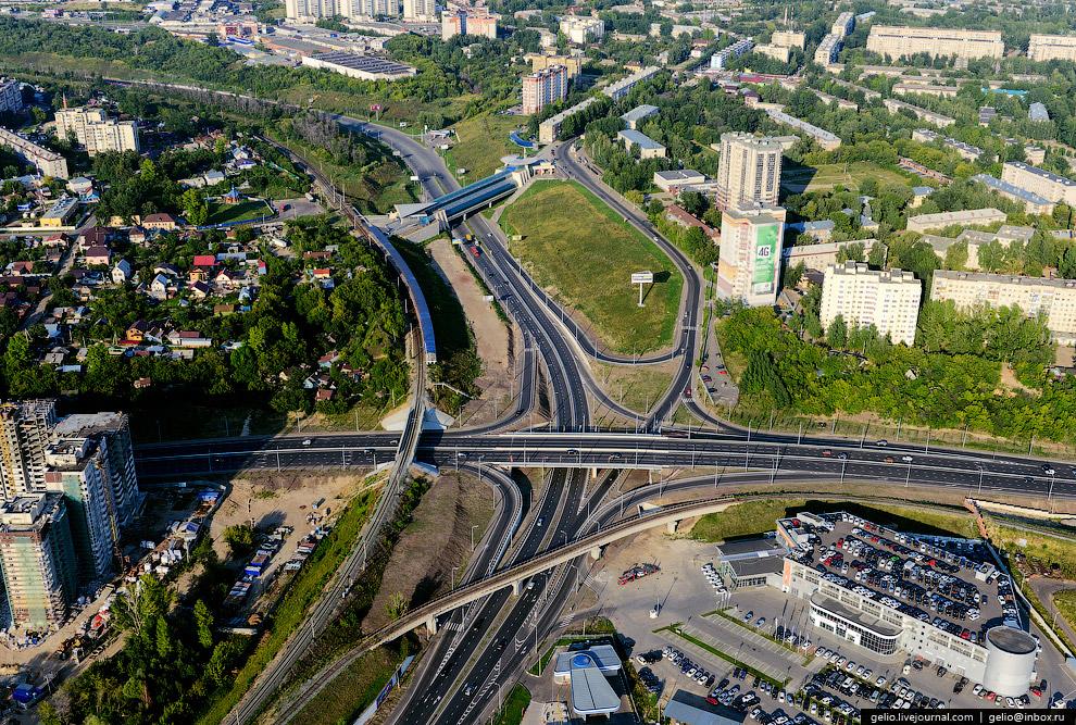 Транспортная развязка на пересечении Аметьевской магистрали и ул.Даурская