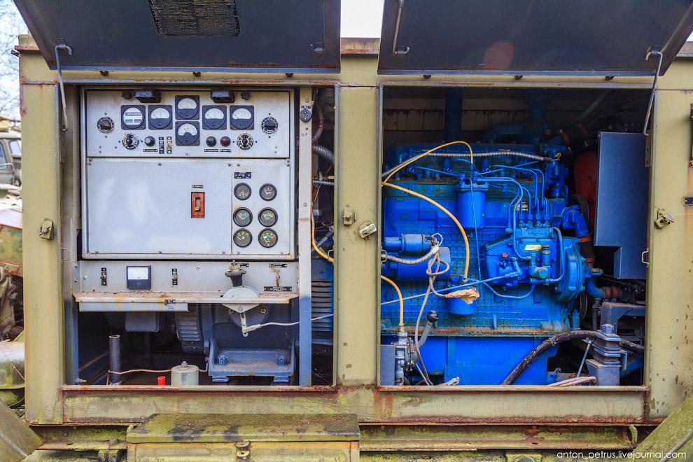 передвижные электростанции