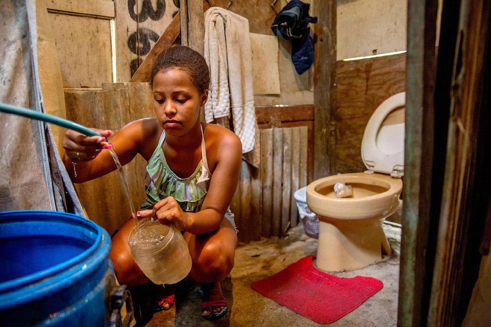 Фавелы (трущобы) в Бразилии