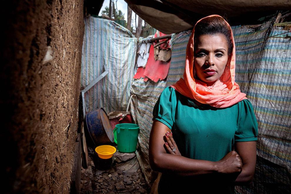 Общественный туалет в Эфиопии