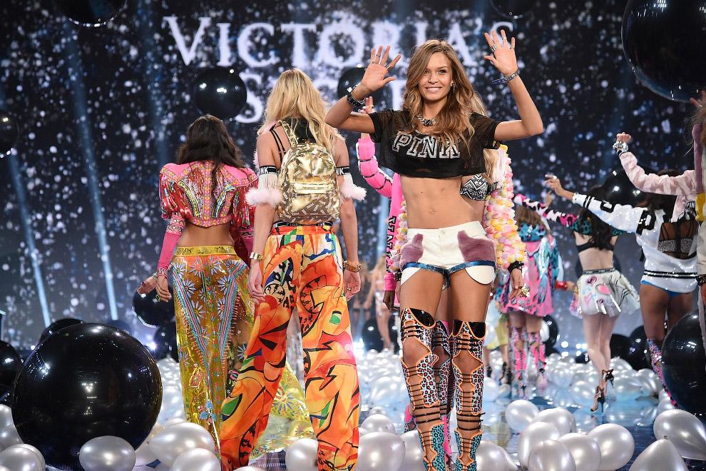Шоу Victoria`s Secret 2014 в Лондоне