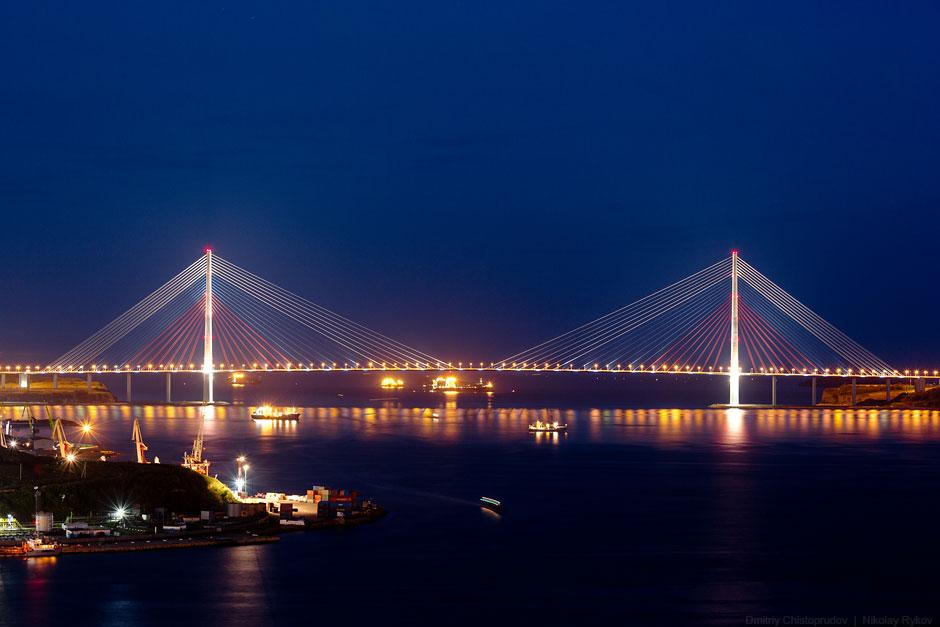 Русский мост на Русский остров