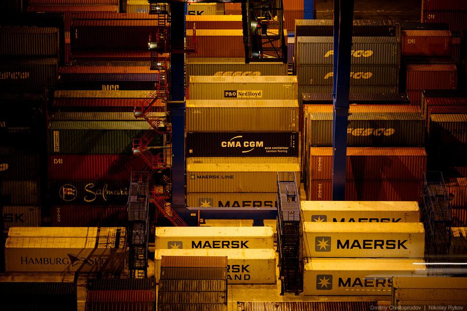 Бесконечные контейнерные терминалы