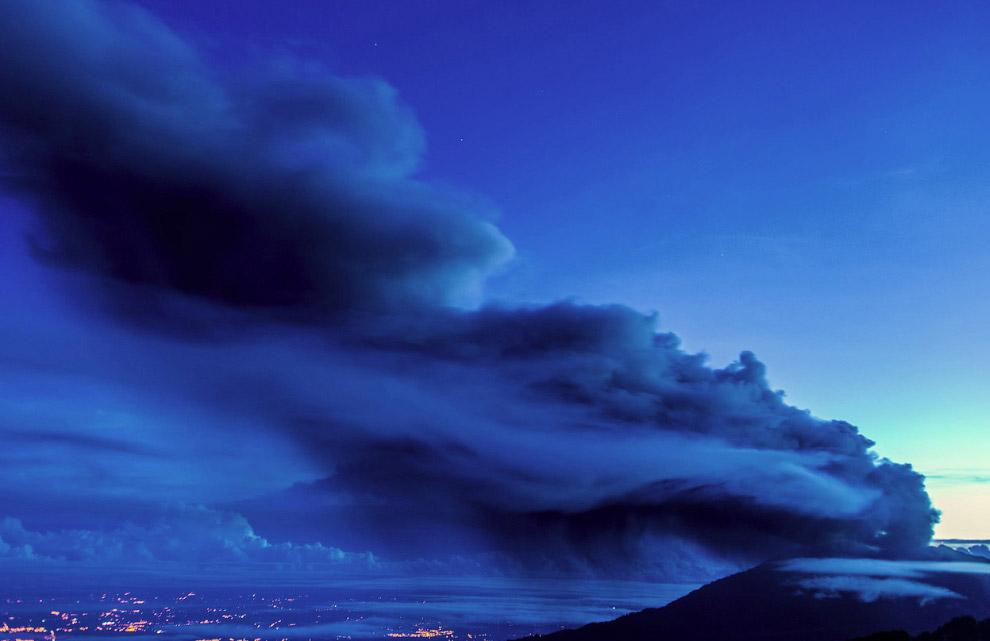 Турриальба — действующий вулкан в Северной Америке, находится в Коста-Рике