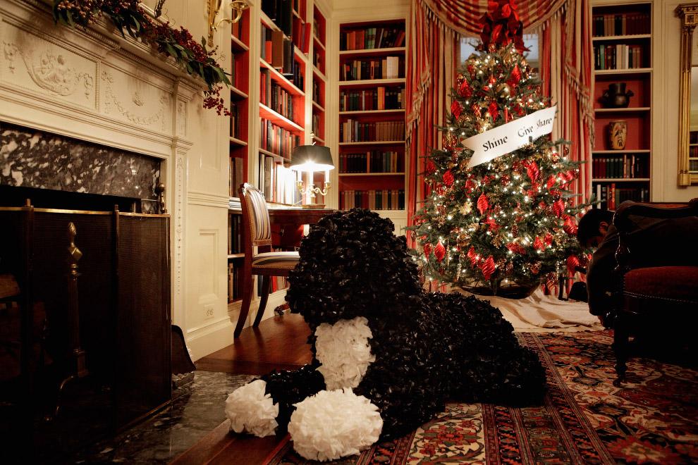 Новогодний Белый дом