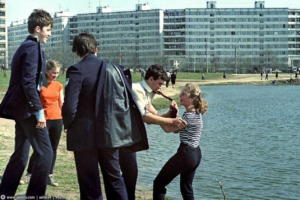 Урок физкультуры у Терлецких прудов