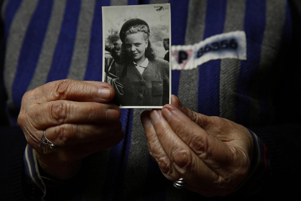 89-летняя узница лагеря, была зарегистрирована там под номером 86356