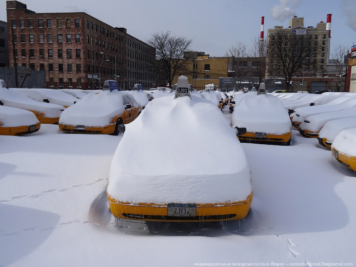 Как выглядит конец света в Нью-Йорке