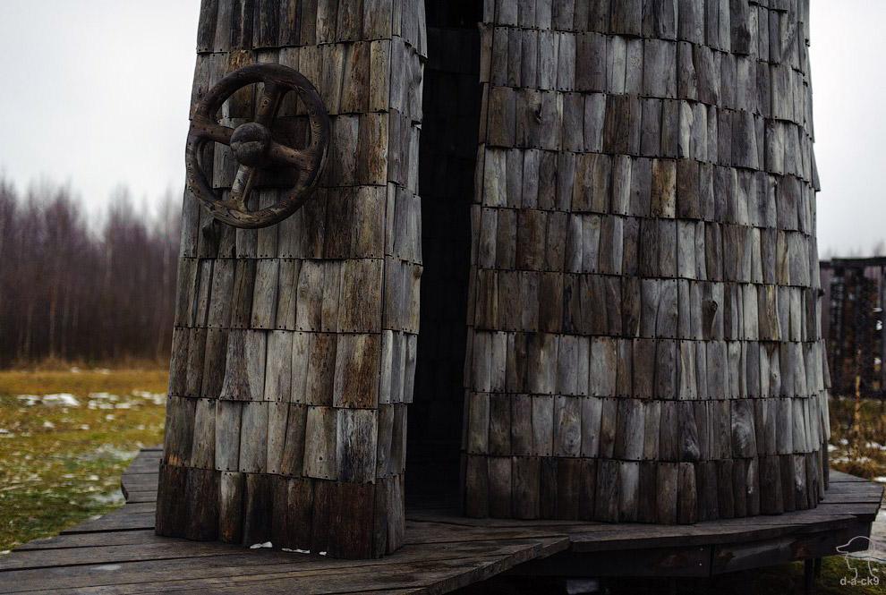 Арт-объекты Никола-Ленивца