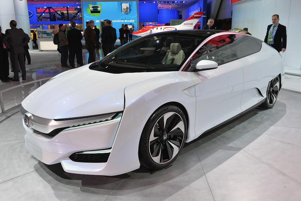 Водородная Хонда FCV