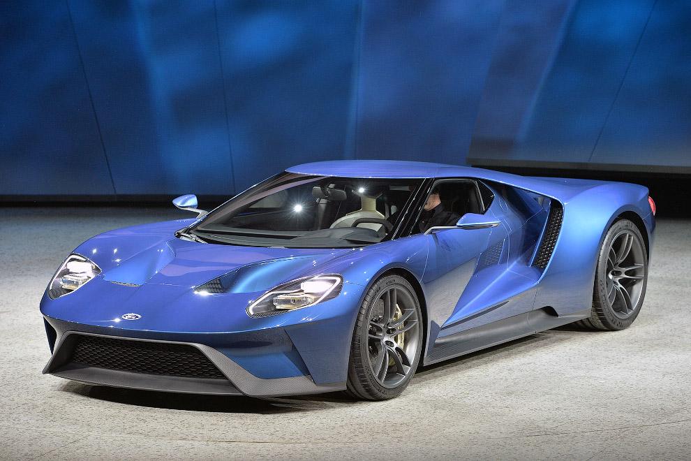 Концепт Ford GT
