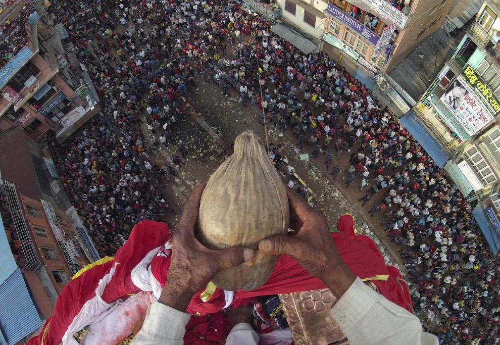 Фестиваль в Лалитпуре, Непал