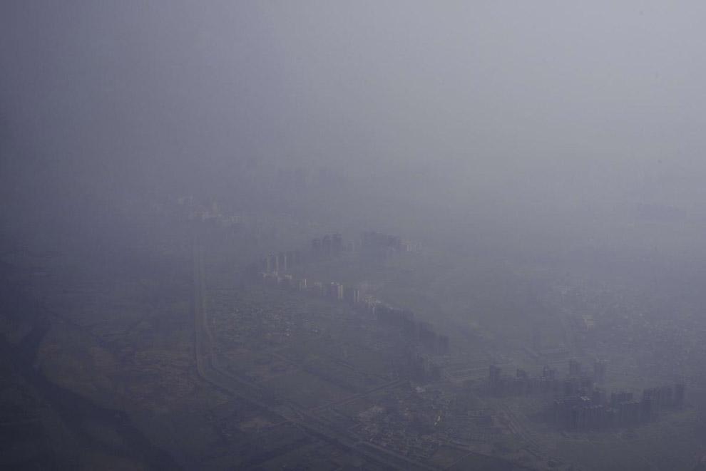 Смог в индийской столице Нью-Дели