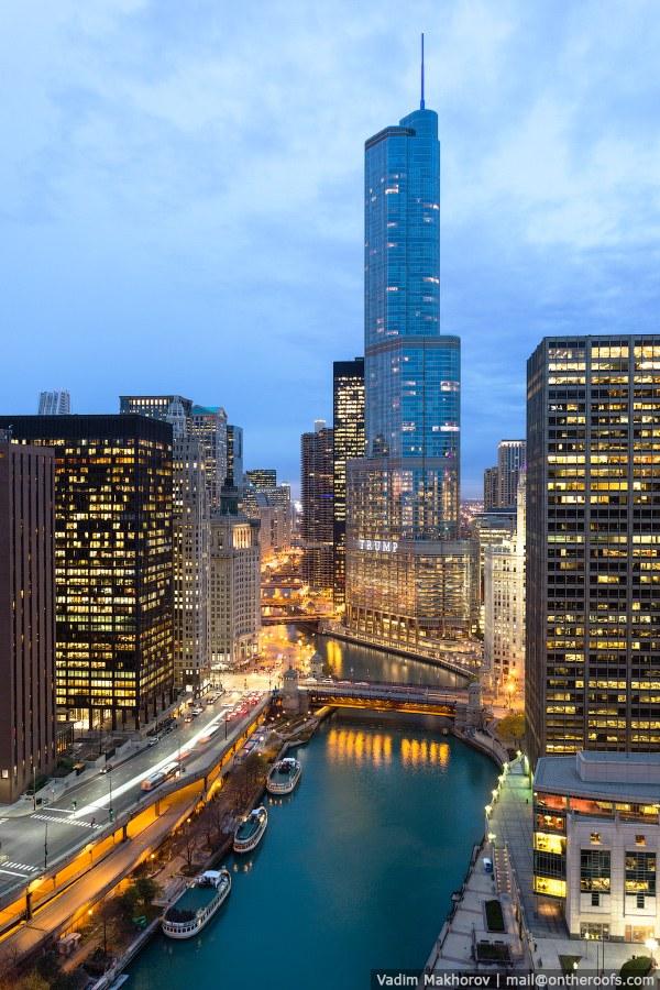Башня Трампа в Чикаго