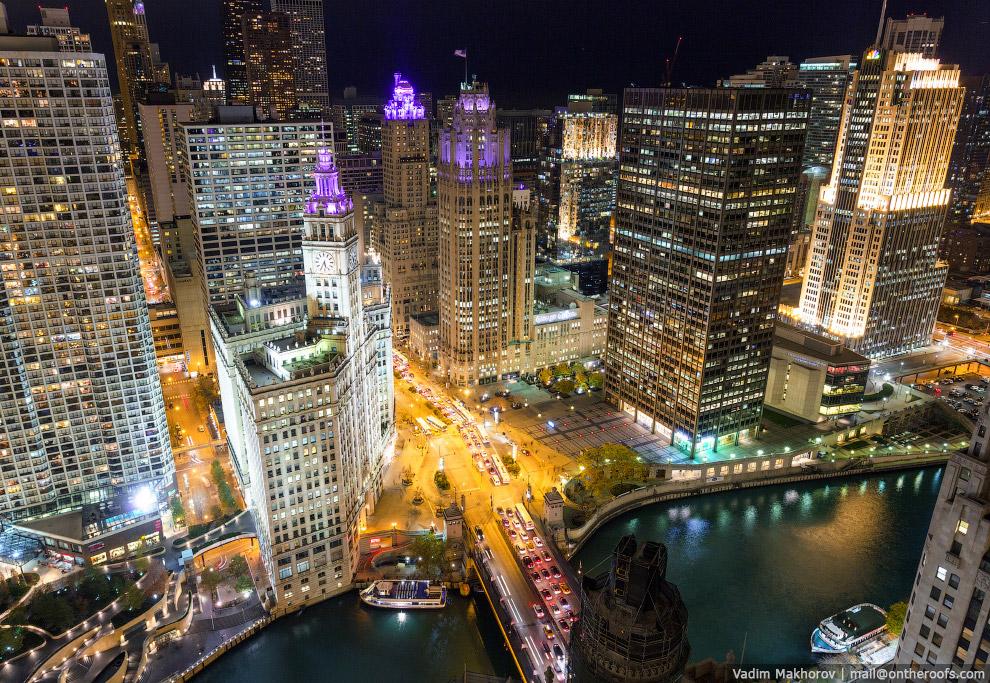 Ночной Чикаго