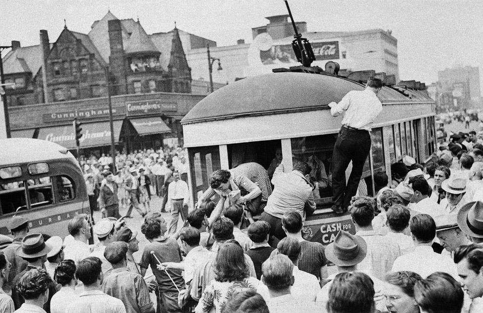 Detroit Race Riot - Детройтский Расовый Бунт