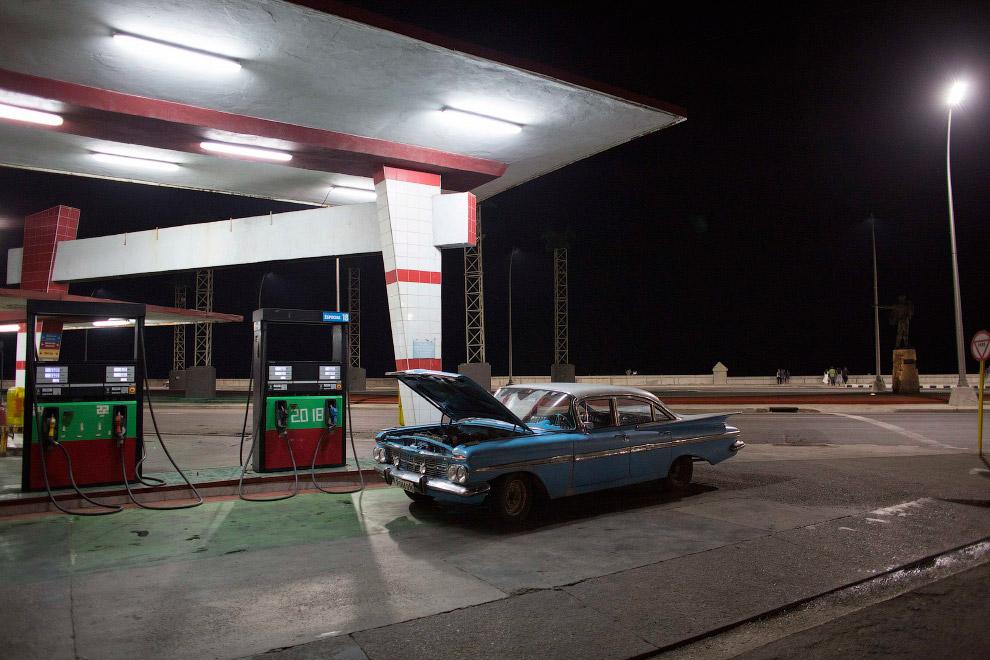 АЗС в Гавані