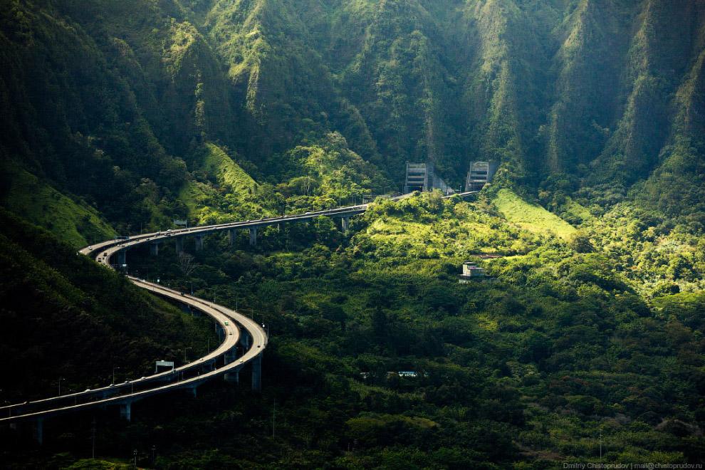 Тоннели на трассе H-3 Tetsuo Harano.