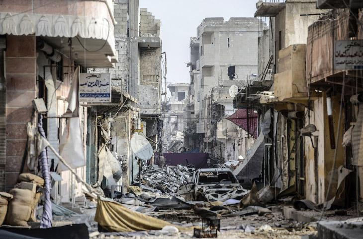 Город Кобани, Сирия