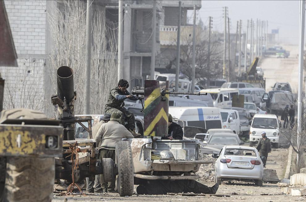 Еще одна самодельная военная машина, Кобани