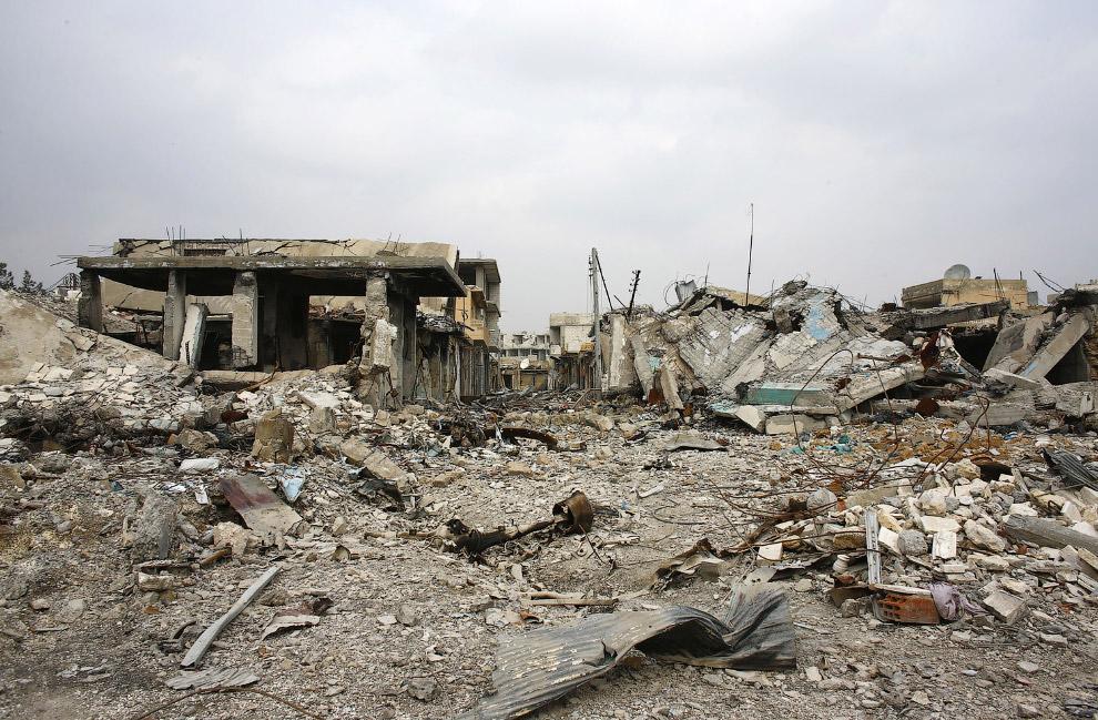 Город Кобани в Сирии