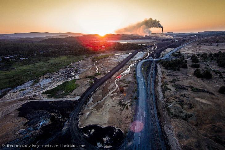 Карабаш, один из самых грязных городов России