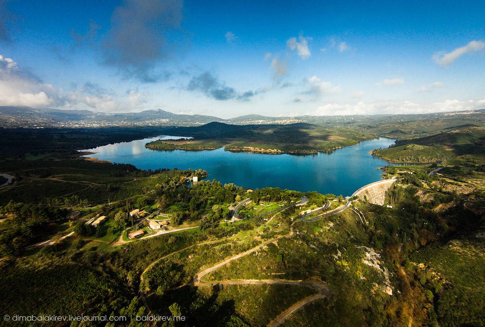 Греция, Марафонское озеро.