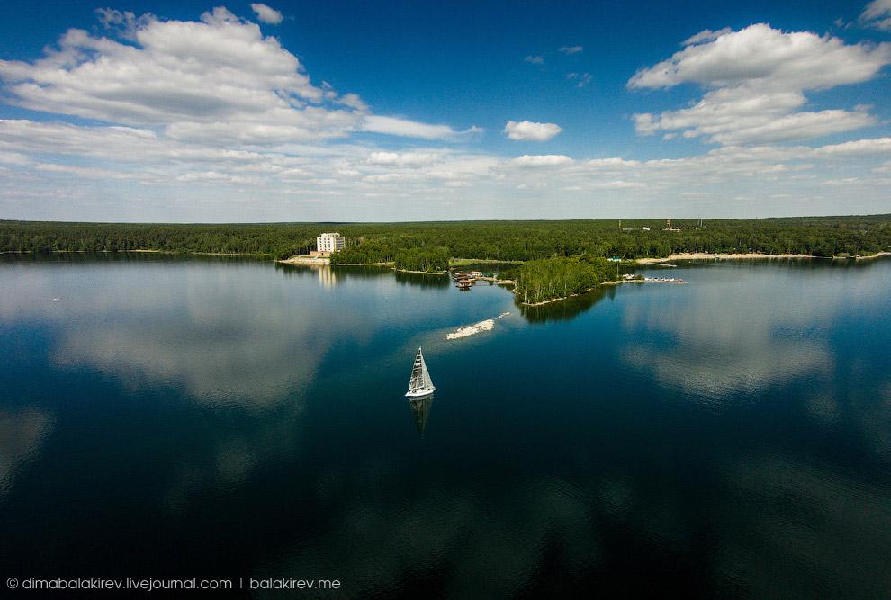Озеро Увильды, Челябинская область.