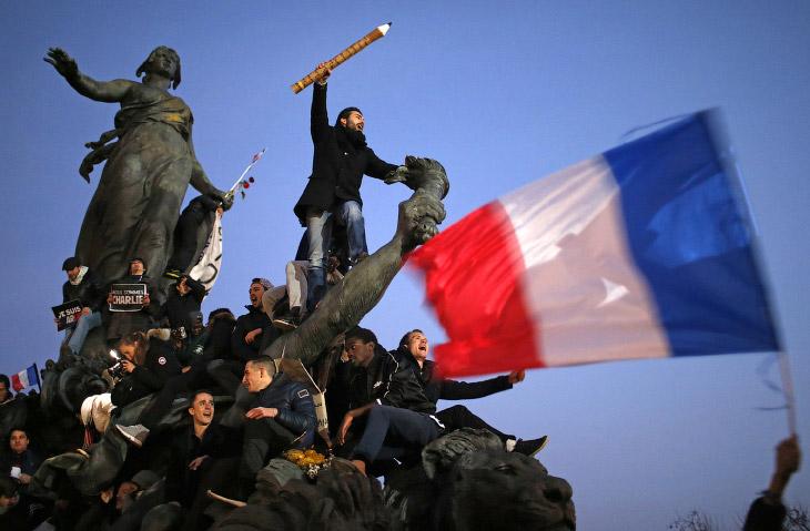 Марш в Париже