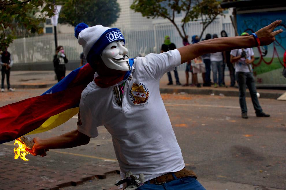 Венесуэла. демонстрации против высокой преступности и высокого уровня инфляции