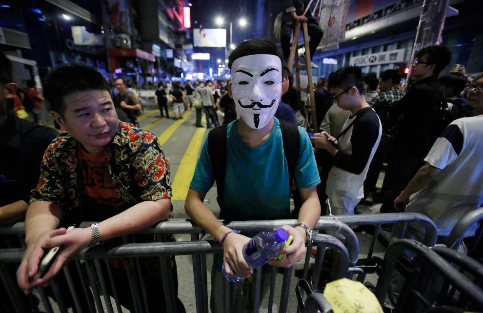 Демонстрации в Гонконге