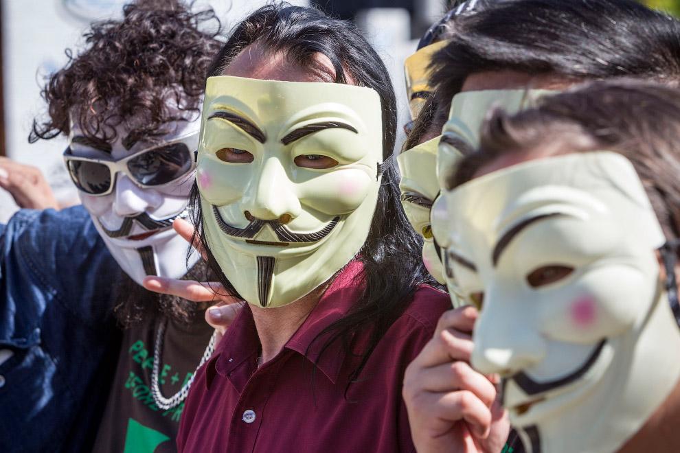 Протесты во время саммита G20