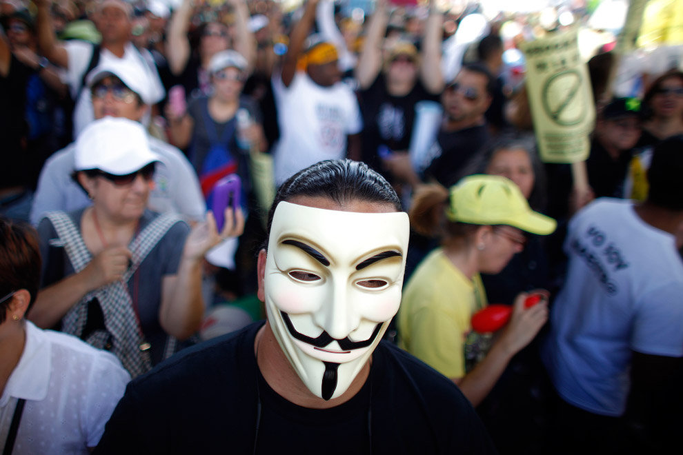 Протест учителей в Пуэрто-Рико